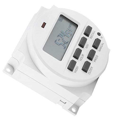 KSTE Temporizador 12V, Temporizador Digita 12V, 12V Digital Temporizador eléctrico interruptor de...