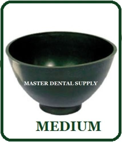 Dental Lab Mixing Bowl Flexible Alginate and Stone MEDIUM Dark Green Flexi