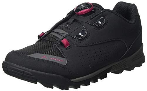 VAUDE Damen Women's AM Downieville Tech Mountainbike Schuhe, Black, 39 EU