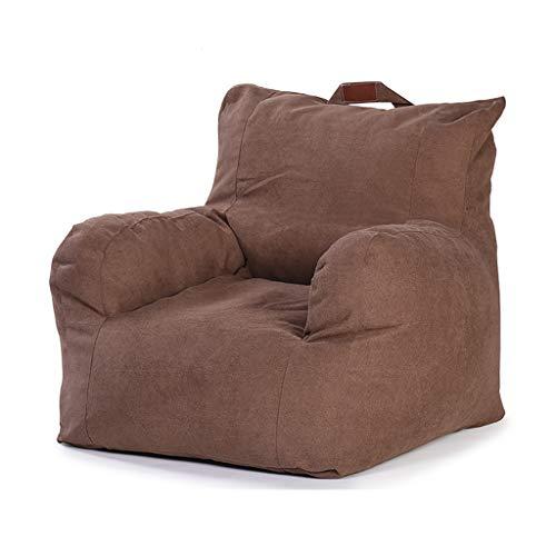 SD Canapé Bean Bag Chaise Fauteuil Confortable avec Poignée A des Poches Latérales Enfants Et Adultes 80 * 78 * 63 cm