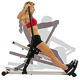 Sunny Health & Fitness Unisex– Erwachsene SF-RW5720 Rudergeräte, Schwarz, Einheitsgröße - 6