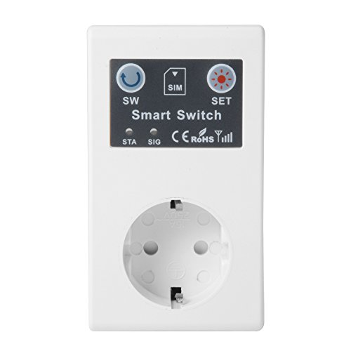XCSOURCE® 250V Telefon PDA SMS RC Wireless Fernbedienung Smart Switch Panel GSM Steckdose Netzstecker für Home Appliance HS945