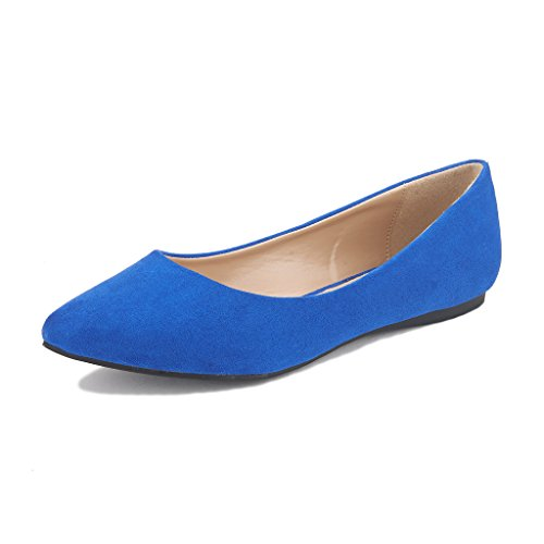 DREAM PAIRS Sole Classic Women's Casual Pointed Toe Ballet Comfort...