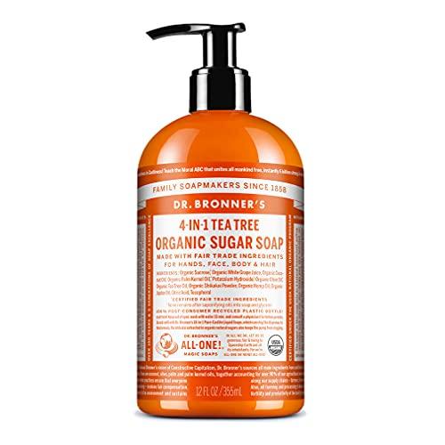 Dr. Bronner's Magic Soap Tea Tree Hand Soap, 355-Milliliter
