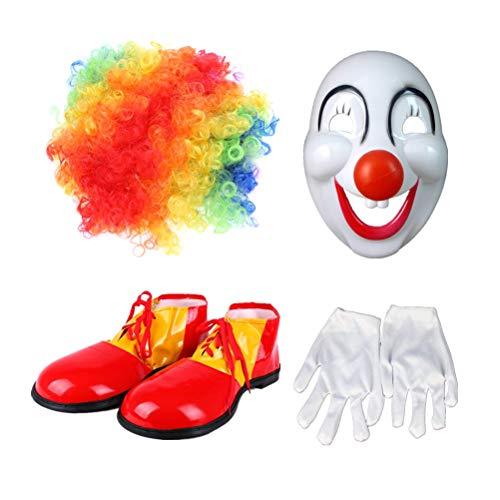 widmann 1820s scarpe clown adulto con suola gomma