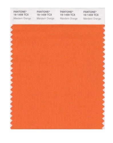 PANTONE Smart 16–1459X Farbmuster-Karte, Mandarinenorange
