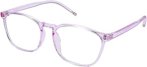 YoungJay Blue Light Blocking Glasses, Anti Eye Strain Headache (Sleep Better),Computer Reading Glasses UV400 Transparent Lens