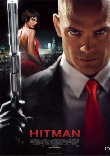 Hitman Movie Poster #01 24x36