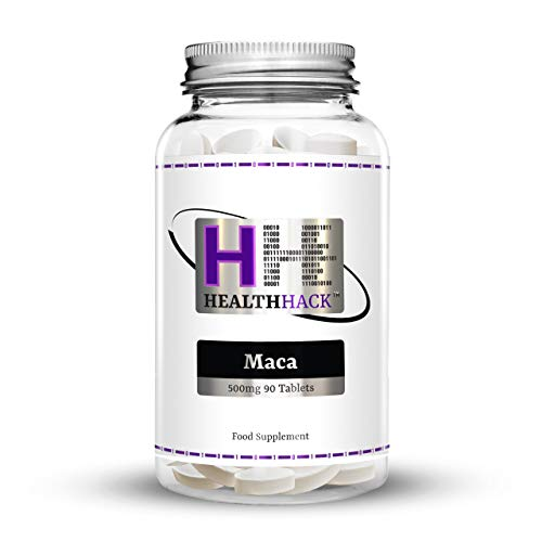 Health Hack - Maca, 500 mg, 90 comprimidos