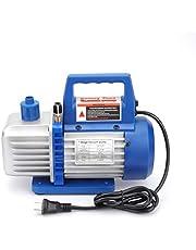真空ポンプ 排気速度 84L/S 3.0CFM 110V 50/60Hz クーラー 真空引き 小型 エアコン修理