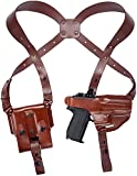 Craft Holsters FN FNS 40 Compact Compatible Holster - Shoulder Holster System (Red Dot) (42/22R-MAH)