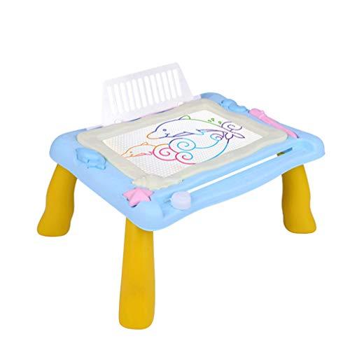 BascarMagnetschreibens Malerei Zeichnungs Graffiti Brett Tabelle für Kindervorschulbrett Pädagogisch und Einfallsreich Ungiftiger Kunststoff. (B)