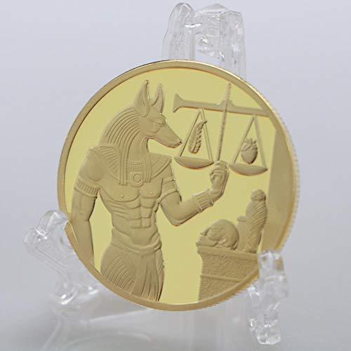 Chaenyu Moneda Conmemorativa del Antiguo Egipto Moneda de Or