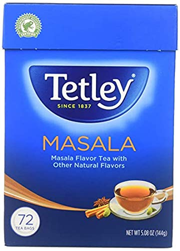 Tetley Tea Bag Masala - 72 Bags