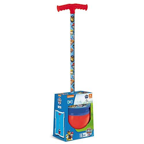 Mondo Toys - Paw Patrol T-Ball - Bastone / palla per saltare per bambini - pedana antiscivolo - peso max. 50 kg. - 01533