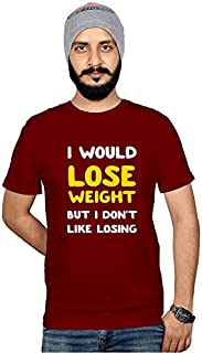 Workshop Graphic Printed T-Shirt for Men & Women | Funny Quote T-Shirt | Weight Lose T-Shirt | Sarcasam T-Shirts | Half Sl...