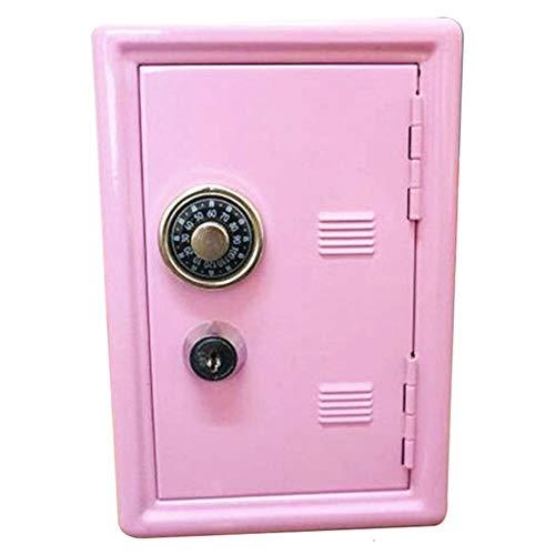 NTMD 1PcsMini ATM Money Box 12X9X17CmCreative Banca Piggy Password Monete Digitali Deposito In Contanti Di Sicurezza Dei Bambini Di Risparmio Cassaforte Migliore Regalo Di Nuovo Anno (Color : Pink)