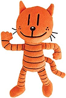 MerryMakers Dog Man's Petey Plush Toy, 9-Inch