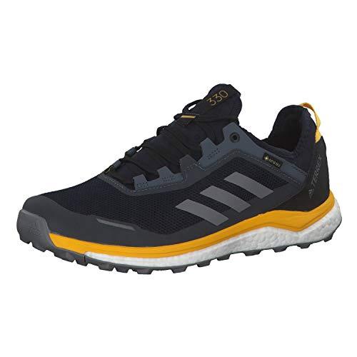adidas Herren Terrex Agravic Flow GTX Fitnessschuhe, Mehrfarbig Tinley Gritre Oroact 000, 42 EU