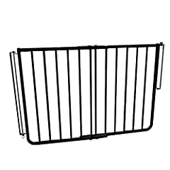 Weatherproof - no better gate for outdoor use Perfect for patios and decks Easy installation Adjustable width 29. 5-42. 5-Inches Extensions available sold separately
