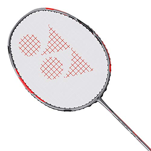 YONEX Duora 77 - Raqueta de bádminton, color negro y rojo