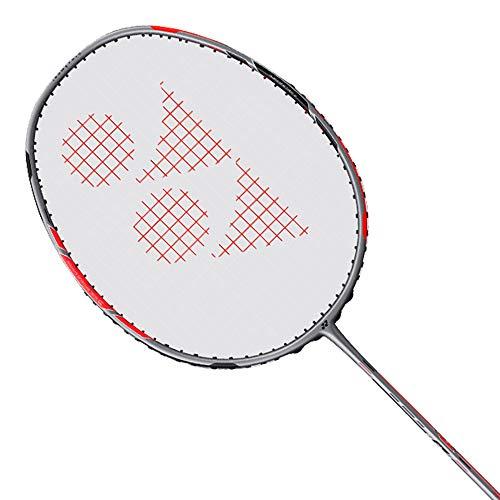 YONEX Duora 77 Badminton Racket (Black/Red)
