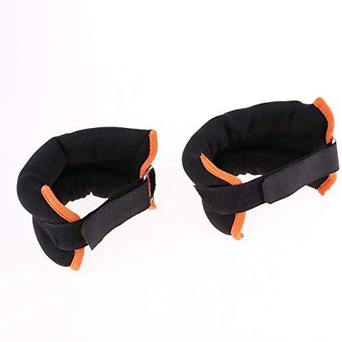 RENSHENKTO Multiuso ajustable muñeca / tobillo pesas conjunto para hombres mujeres tobillo muñeca 1 par
