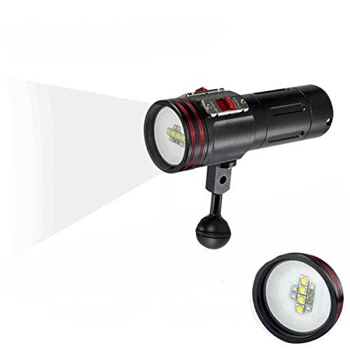 Global ARCHON W40VR 100M Video Photograpy Diving 4 Color LED Linterna
