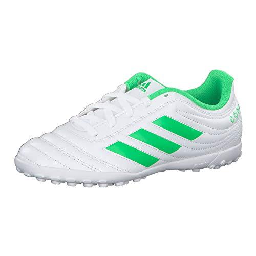 Adidas Copa 19.4 TF J, Zapatillas de Deporte Unisex niño, Multicolor (Ftwbla/Limsol/Ftwbla 000), 35 EU