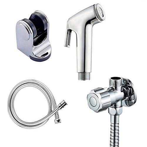 THQC WC bidé Handheld del Kit del Sistema pulverizador de Mano de Acero Inoxidable Bidé Grifo de baño de la Mano rociador de Ducha Cabeza de autolimpieza (Color : A002)