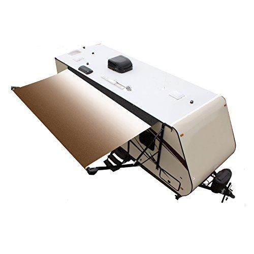 Lippert Components White/Sand/Black 20 Foot Lippert V000231498 Solera Standard Power/Manual Roller Assembly BKWG, Fade-20'