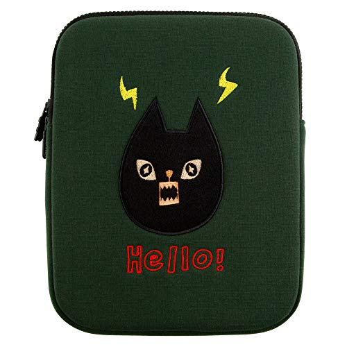 Amazing Designs Embroidery Laptop Sleeve Bag Compatible with MacBook Air 13 inch, MacBook Pro 13inch Pouch Skin Cover SURPRISECAT 13 inch