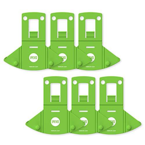Ipevo Mirror-CAM, Dispositivo de Aprendizaje a Distancia [Pack de 6]: Acoplamiento a la cámara Web de Ordenadores portátiles para capturar Documentos, Grabar lecciones o Realizar demostraciones.