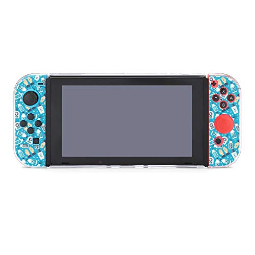 Case for Nintendo Switch,Hand Sanitizer, Alcohol Bottle Protective Case Cover for Nintendo Switch Funny Fashion Switch Game Shell Handheld Grip Protector Cover