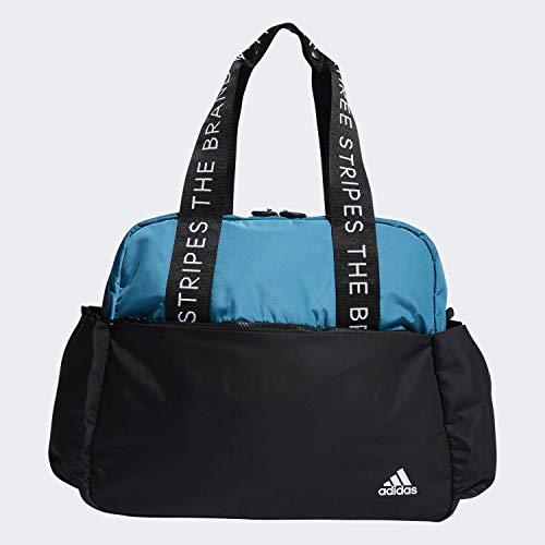 adidas Damen Sport To Street Tragetasche, Damen, Tasche, Sport To Street Tote, Aktivblaugrün / Schwarz, Einheitsgröße