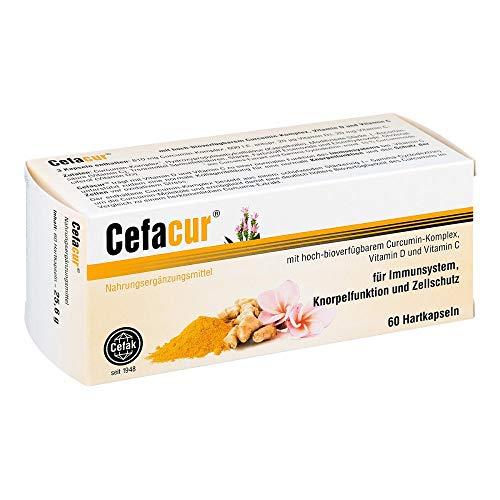 Cefacur Kapseln für Immunsystem, Knorpelfunktion und Zellschutz, 60 St. Kapseln