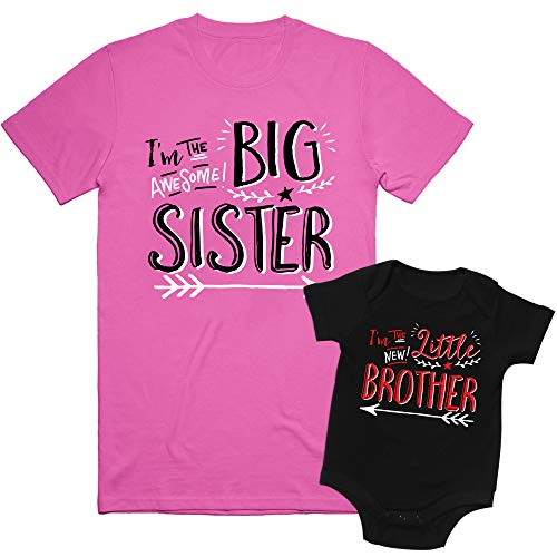 Texas Tees, Big Sister Shirts, Baby Brother Onesie, Hipster Big Sister/Little Brother, Big Sibling...