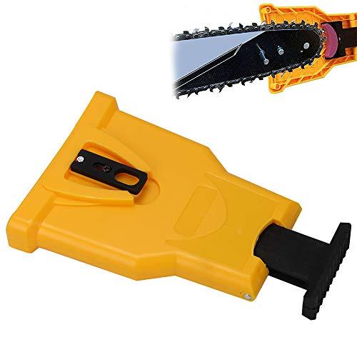 Ballshop Chainsaw Teeth Sharpener Sharpens Bar-Mount Chainsaw Saw Chain Sharpening Tool Yellow
