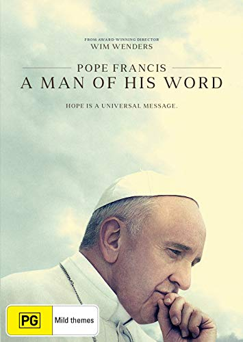 Pope Francis: A Man of His Word DVD   Documentary   Region 4