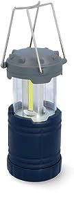 CARTREND 10688 COB LED campinglampa utdragbar, batteridriven nödfallslampa lykta lampa för strömavbrott, vandring, fel, nö...