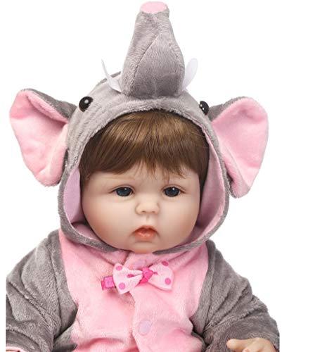 Schattige Reborn Babypop Zachte Echte Siliconen Vinyl Pop Mooie Baby Beste Speelgoed En Cadeau Voor Kinderen