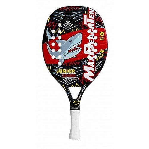 Max Beach Tennis MBT Racchetta Beach Tennis Racket Junior Fun Shark 2019