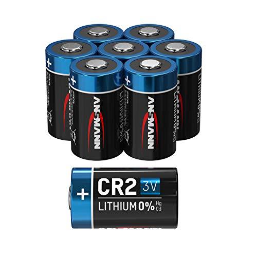 ANSMANN CR2 3V Lithium Batterie – 8er Pack CR2 Batterien geeignet für Haushaltsgeräte, Messgeräte und mehr – Einwegbatterie