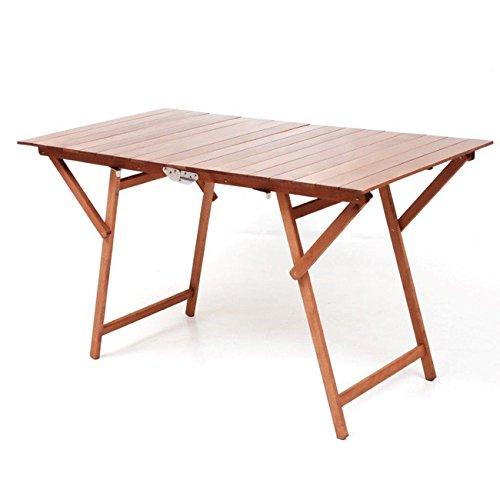 WeBMARKETPOINT Table de jardin pliable de PIC nic 70 x 40 cm