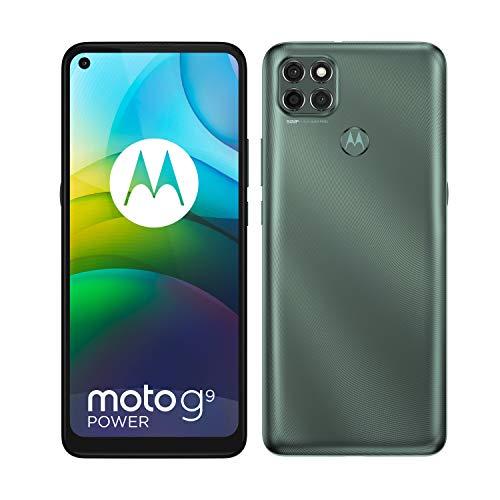 Motorola Moto G9 Power Dual-SIM 128GB ROM + 4GB RAM (GSM Only   No CDMA) Factory Unlocked Android Smartphone (Metalic Grey) - International Version