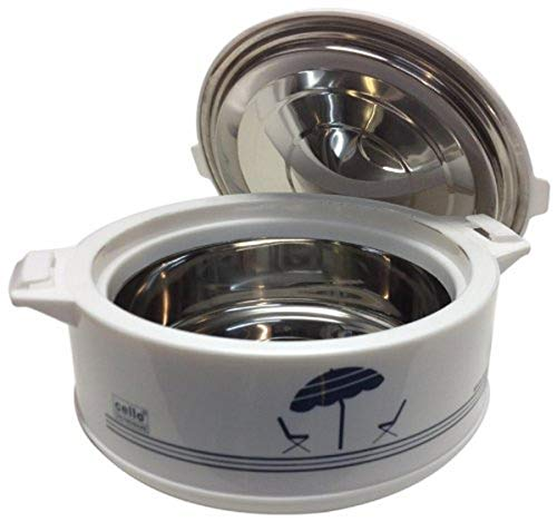 Cello Chef Deluxe Hot-Pot Insulated Casserole Food Warmer/Cooler, 1.2-Liter