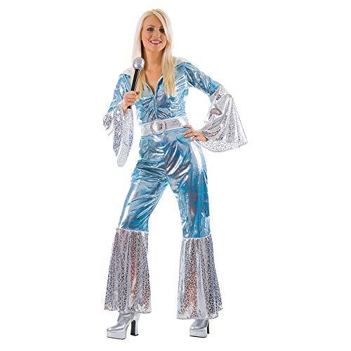 Waterloo Ladies 70s Disco Costume. Size 18 to 20