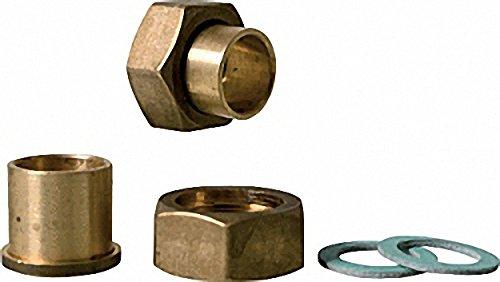 Lötanschluss-Verschraubung 3-4''x 15mm je 2 Überwurfmuttern- Löttüllen und Dichtringen