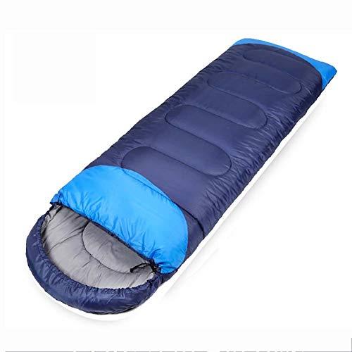 KSITH outdoor slaapzak, licht en waterdicht met compressiezak lente en herfst winter volwassen camping katoen slaapzak