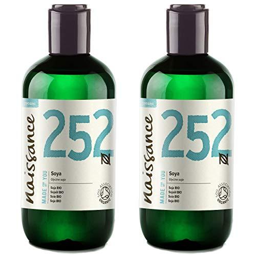 Naissance Soja BIO - Aceite Vegetal 100% Puro - 500ml (2 x...